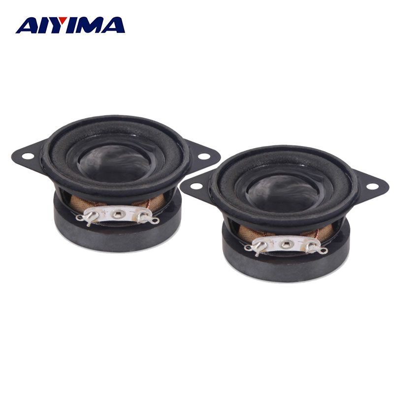AIYIMA 2Pcs 1.5Inch Mini Audio Portable Speakers 4Ohm 10W DIY Full Range Bluetooth Multimedia Music Speaker цена 2017