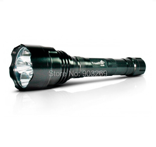 TrustFire TR-800 1200 LM 5*CREE Q5 LED Waterproof High Power Torch For Camping Hiking by 2*18650 Battery