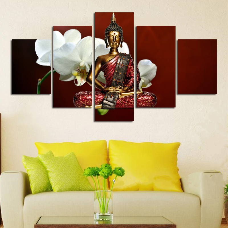 ALMUDENA Unframed Canvas Wall Art Pictures Home Decor Posters 5 ...