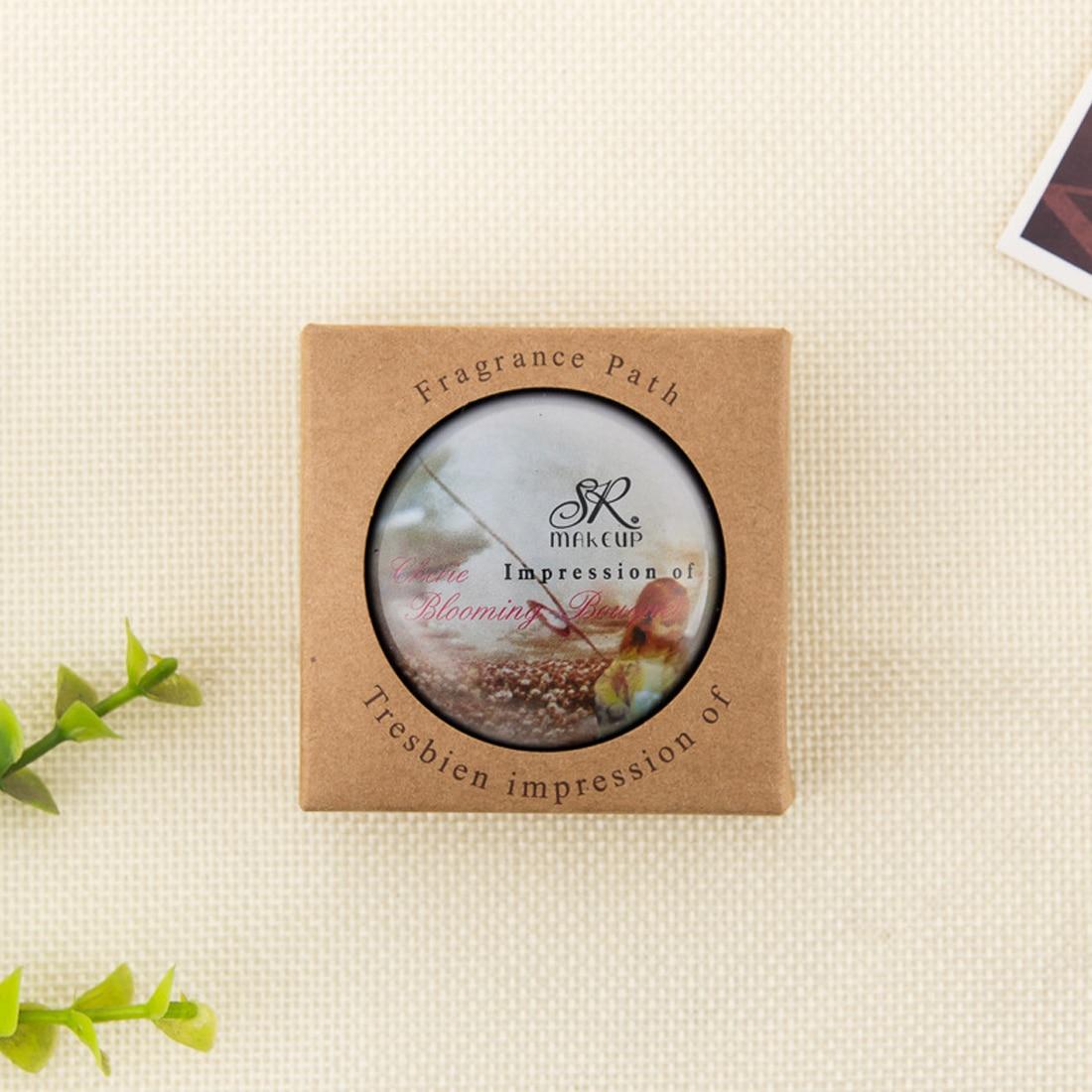 High Quality 1PC Unisex Magic Vintage Fragrance Classical Deodorant Perfumed Solid Retro Portable Tin Box Balm Skin Care