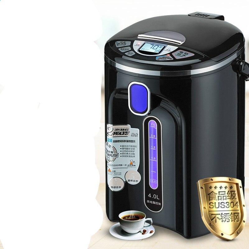 Bollitore elettrico thermos bottiglia di acqua 304 in acciaio inox automatico di conservazione di calore di un bollitore bollitori per uso domestico