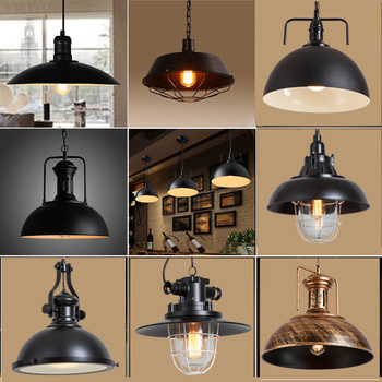Nordic Industrial Vintage Pendant Lights Bathroom Bedroom Departments Dining Room Entryway Lighting Living Room Rooms