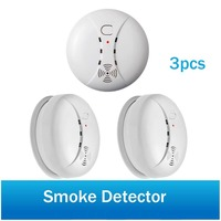 Wireless Smoke Detector Fire Protection Leakage Detector Sensor 433MHz Portable Alarm Sensors For Home Security Alarm System