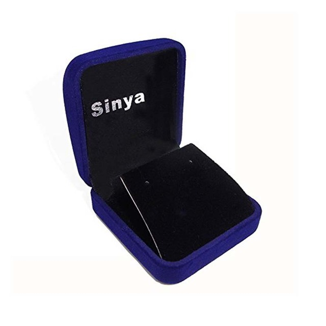 Sinya Pearl pendant necklace with 18inch 925 sterling silver box chain natural freshwater pearl 9.5-10mm charm sinya tz09044p