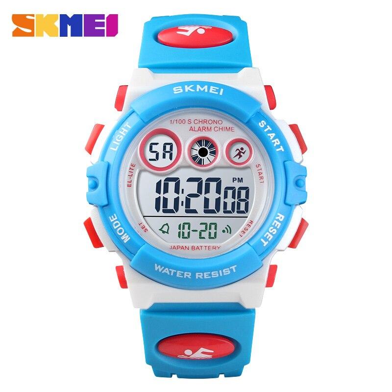 Dependable New Skmei Famous Brand Outdoor Sports Children Watch Kids Watches Boys Girls Led Digital Wristwatches Waterproof Kid Watch Clock Watches