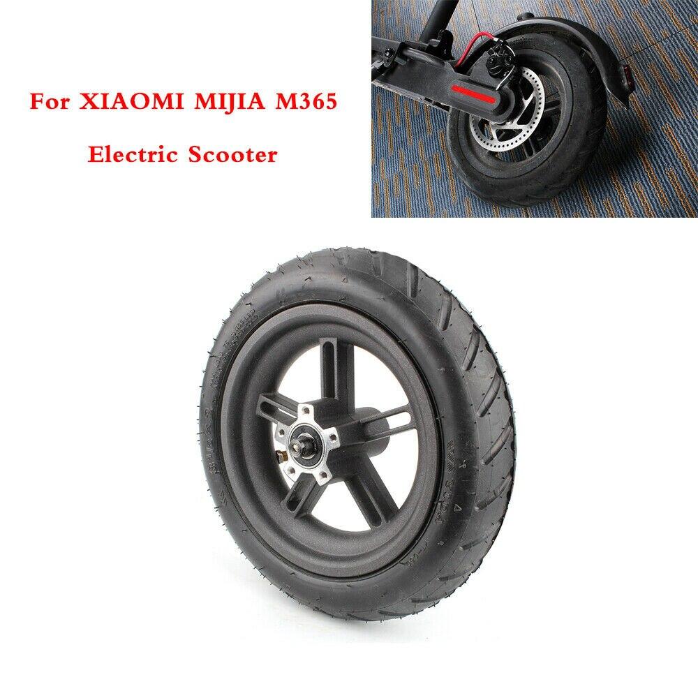 Pneus de Scooter moyeu de roue arrière frein à disque pièces de rechange de réparation de pneu pour Xiaomi M365 Scooter électrique pneus pleins pneus d'origine