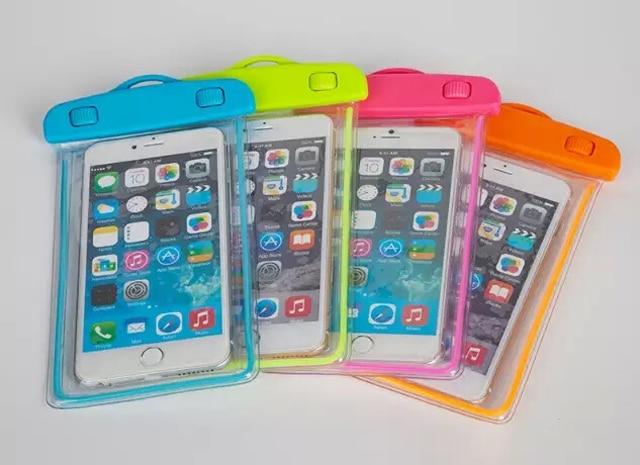 Berenang Kasus Ponsel Kantong Penutup Layar Sentuh Untuk BlackBerry - Aksesori dan suku cadang ponsel - Foto 5