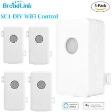 Broadlink 5 шт. SC1 умный переключатель Wi-Fi Domotica таймер DIY модули для Alexa Google Home приложение Дистанционное Управление светодиодный свет прерывателя