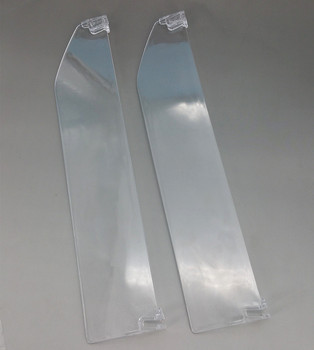 Plastic Supermarket Retail Shelf PS Transparent Dividers L 286mm Matched With Pushing System And Rails Available 200pcs фото