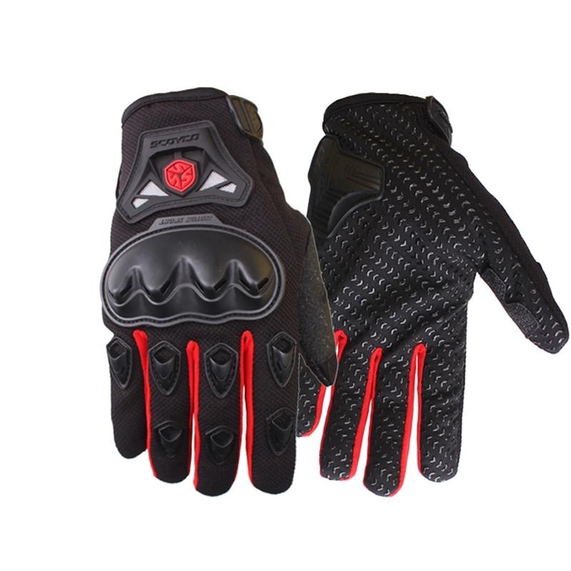 Scoyco MC29 Motorcycle Full Finger Gloves Summer Motocross Off Road Luvas Moto Racing Riding Protective Gear Guantes Motocicleta