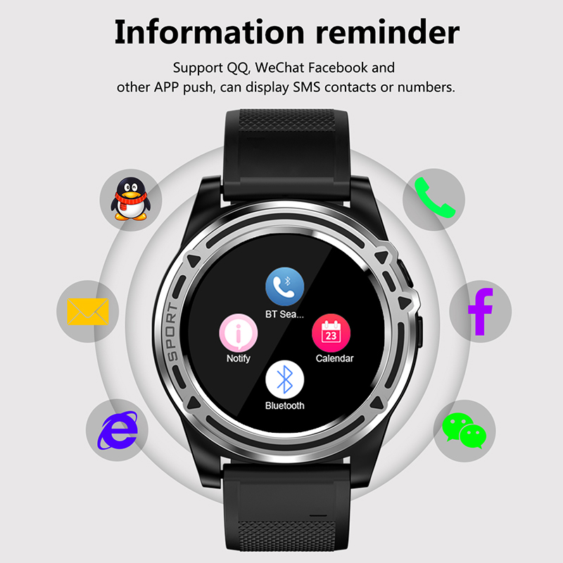 Image 2 - Slimy Smart Watch Phone SW18 Clock SIM Push Message Answer Dial Call Bluetooth Calculation For Android Phone PK Q18  Smart Watch-in Smart Watches from Consumer Electronics