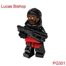 Building Blocks Sabretooth Lucas Bishop Marvel Super Heroes X-Men Action Bricks Dolls Kids Diy Toys Hobbies Pg301 Figures