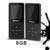2016 Más Reciente 8 GB Ultrafinos with1.8 Pulgadas de Pantalla Reproductor de MP3 puede reproducir 80 h, Original RUIZU X02 Mp3 Reproductor de Música