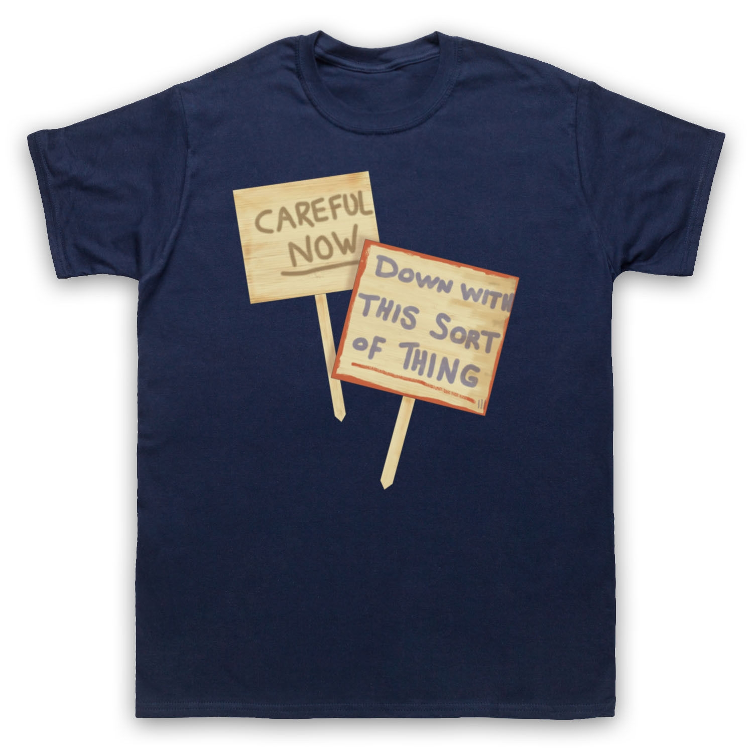 FATHER TED DOWN WITH THIS SORT OF THING CAREFUL NOW ADULTS & KIDS T-SHIRT