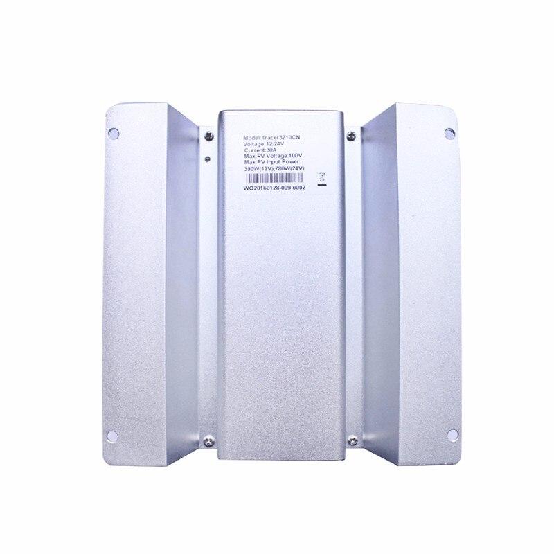MPPT cargo automático controlador del sistema del panel solar Tracer3210CN 30A 30amp 12 V 24 V tipo de auto marca epever producto - 6
