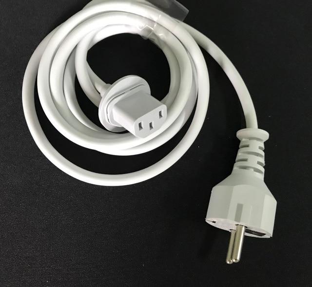 高品質新ヨーロッパプラグ 1.8 メートルの電源コードの imac コンピュータ macbook eu プラグ充電アダプタ