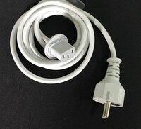 High Quality NEW Europe Plug 1 8M Power Cord Cable For IMAC Computer Macbook EU Plug
