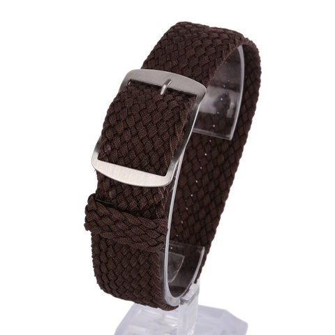 Newest Fashion 16 18 20 22MM Nylon Straps Watches Straps Weave  Watchband  Watch Band  Wristband Colorful Color Karachi