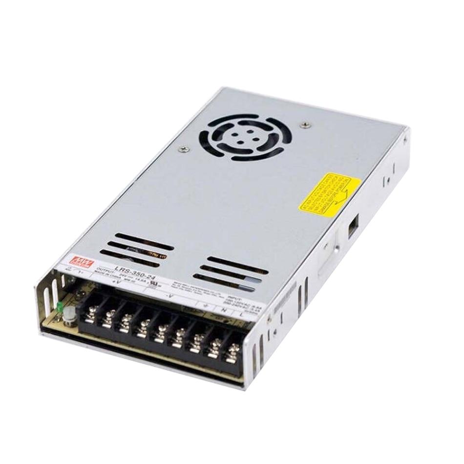 Mean Well LRS-350 PSU series Guaranteed genuine 350W 24V PSU 3D printer 24V PSU ENDER3 CR10 DIY prusa