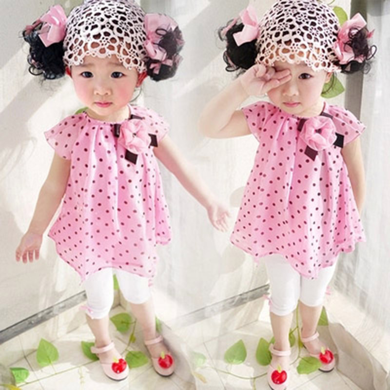 12e45815d 2015Hot Summer Knee Length Dress Little Girl's 0 1 2 3 Year Fashion Pink  Small Baby Retro Brand Design Children 60 96cm 61A-in Dresses from Mother &  Kids on ...