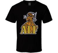 ALF классика 80-х ТВ-шоу футболка свежий Дизайн Лето хорошее качество брендовая одежда лето 2018 Футболка с принтом летние мужские