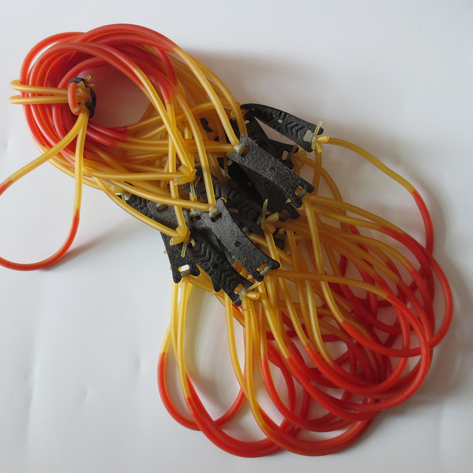 Freeshiping 1 STUK sling shot rubber Latex Vervanging Rubber Band - Jacht - Foto 3