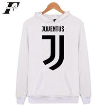 2017 hombre mujer chándal impreso Sudadera con capucha hombres mujeres  Juventus marca ropa abrigo Italia 38c6d294e49
