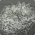 Free ship ITALIAN Keratin Flat tip glue grain- 1000pcs/LOT keratin glue granule White color for I tip/ U-tip hair/flat tip hair