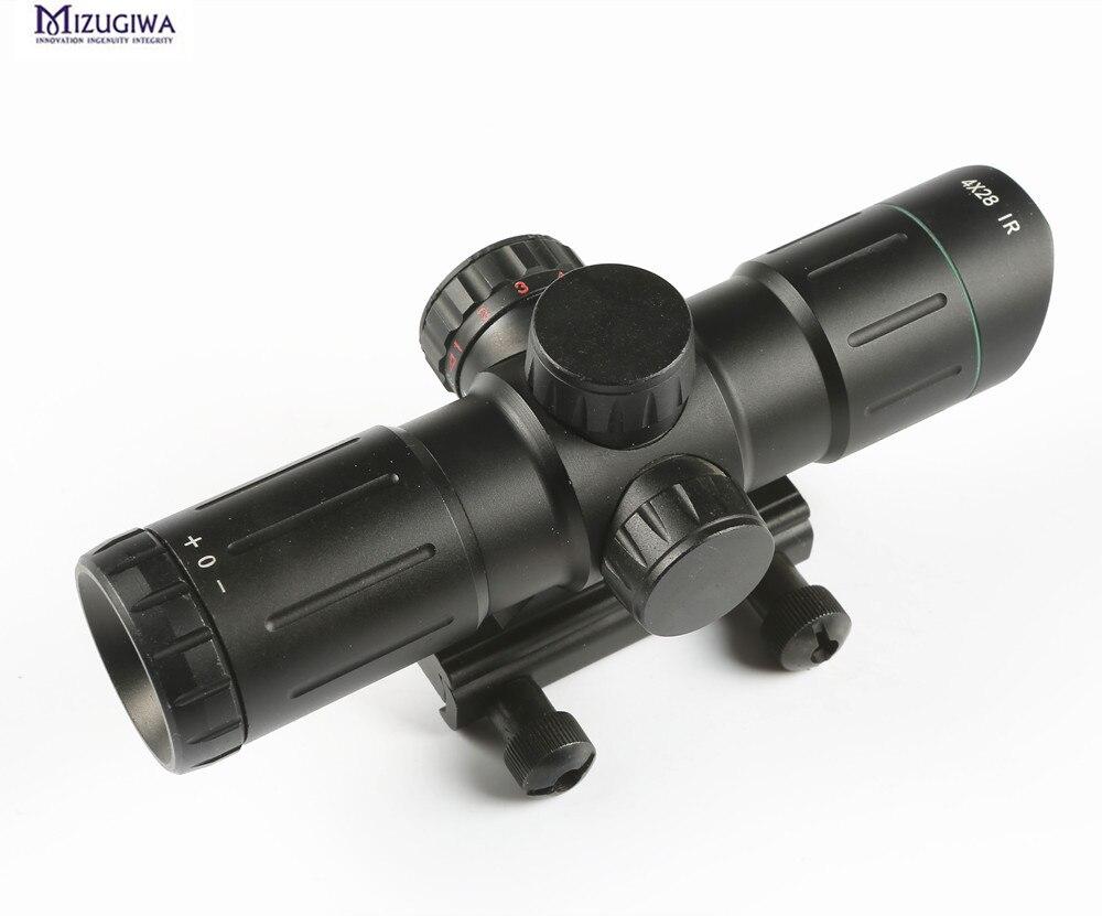 Entfernungsmesser Jagd Beleuchtet : Jagd luftgewehr umfang ir laser grün rot beleuchtet