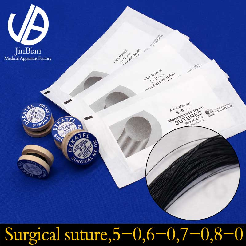 High Quality Medical Polymer Materials Surgical Suture Black Double Eyelid Plastic Surgery Medical And Surgical Tools
