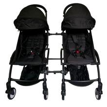 Penyambung 3pcs Baru Aksesori Stroller Aksesori Bersama Penyambung Bayi Stroller Penyambung Bayi Untuk Yoyo + Yoya Baby Throne stroller