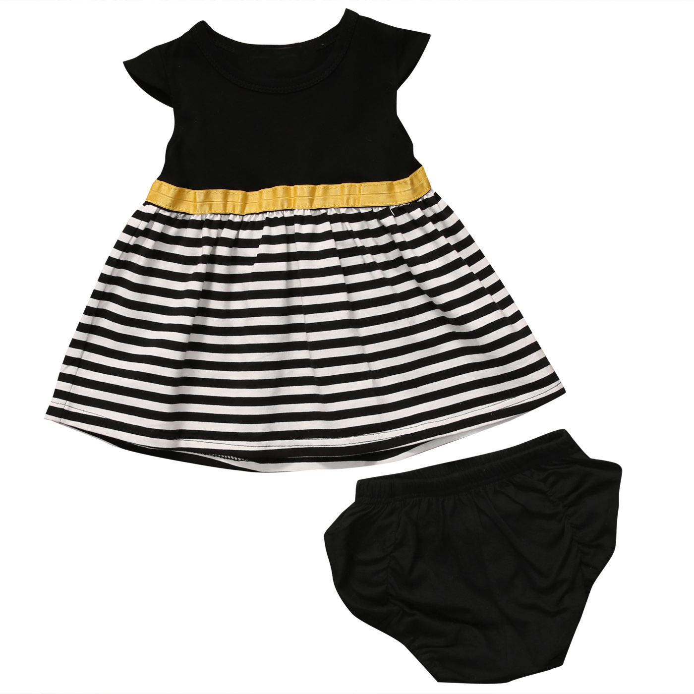 Toddler Kids Baby Girls Summer Outfits T-shirt Tops Pants Short 2PCS Clothes New Arrival Girl Costumes 1-2 Years family fashion summer tops 2015 clothers short sleeve t shirt stripe navy style shirt clothes for mother dad and children