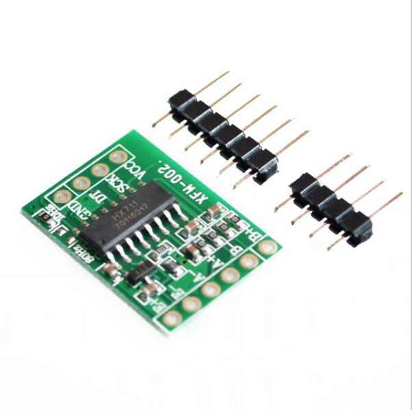US $0 71 5% OFF|HX711 Weighing Sensor Dual Channel 24 Bit Precision A/D  Module Pressure Sensor for arduino-in Sensors from Electronic Components &