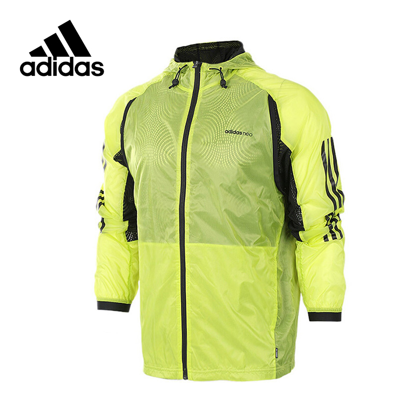 Original New Arrival Official Adidas NEO Label M 2-LAYER WB Men's jacket Hooded Sportswear adidas new arrival official ess 3s crew men s jacket breathable pullover sportswear bq9645