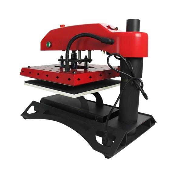 Taille de la table de travail 40x50 cm sublimation thermique t-shirt prix de la machine d'impression