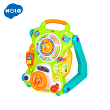 HUILE TOYS 2107 New Learning Walker For Kids 9 Month Up Musical Toys Baby Walker Stroller activity wheel baby walker safety a generation of fat baby stroller toy car stroller walker walker toys for children