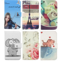PU Leather Case With Credit Card Holder Celular Mobile Phone Cover For APPle IPod Touch 4