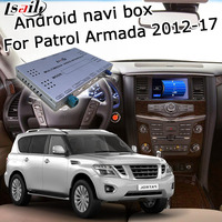 Lsailt Android gps навигатор для Nissan Patrol Armada Y62 2012 2017 high end, с Pathfinder Quest Elgrand 370z и т. д.