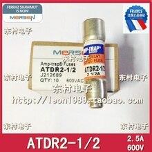 [SA]France MERSEN fuse FERRAZ AMP-TRAP fuse ADDR 2-1 / 2 2.5A 600V--5PCS/LOT 2 lot