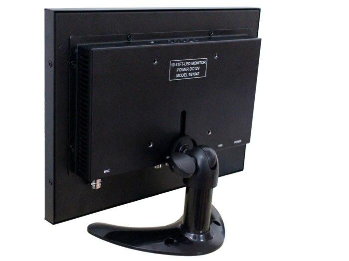 10.4 pulgadas cáscara de hierro BNC HDMI hd VGA AV entrada monitor - Periféricos de la computadora - foto 3