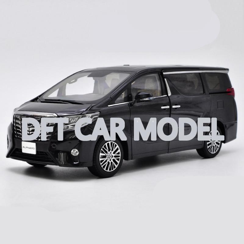 1:18 alliage jouet véhicules ALPHARD MPV sport voiture modèle de voiture jouet pour enfants Original autorisé authentique enfants jouets