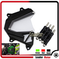 For KAWASAKI Z800 2013-2016 Scooter Accessories Front Sprocket Cover Panel Left Engine Guard Chain Cover Protection Black