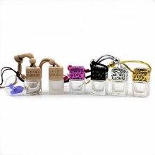 Car Perfume Bottle for Essential Oils Air Freshener Auto Pendant Ornament Car-styling Perfume
