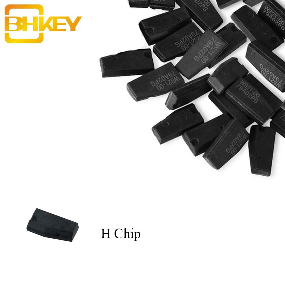 BHKEY 5PCS/10PCS/20PCS*Transponder Key Chip H 8A Carbon Chip Fit For Toyota Rav4 Camry H Chip