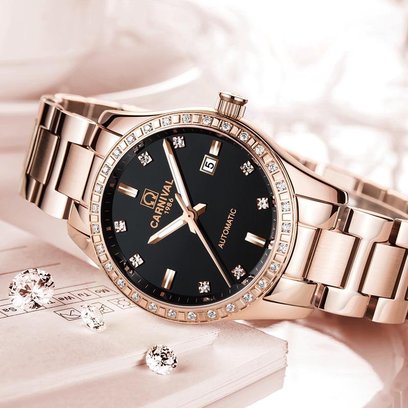 menina relógio de negócios reloj mujer