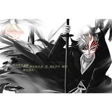 Bleach Poster Custom Canvas Poster Art Home Decoration Cloth Fabric Wall Poster Print Silk Fabric