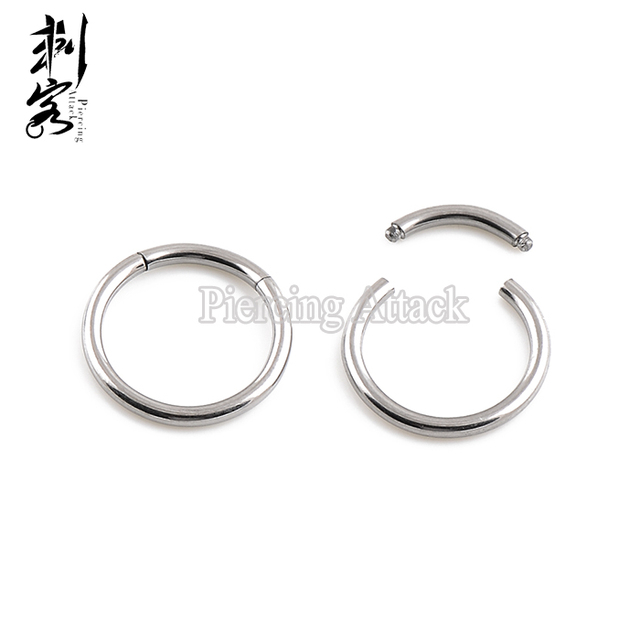 Surgical Steel Segment Ring 14 Gauge Mixed Sizes Captive Ring Body ...