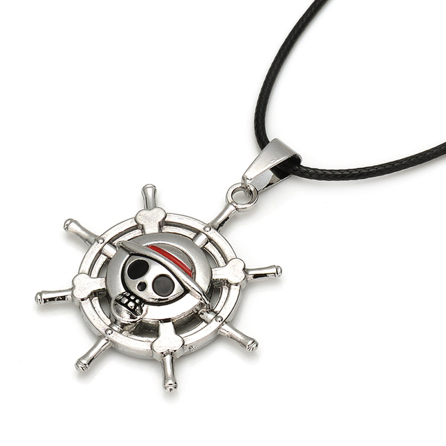 One Piece Monkey D Luffy Doll Necklace