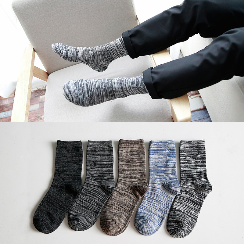 Hot sale men s socks british style brand elite long cotton for men wholesale socks casual