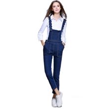 Women Ripped Denim Jumpsuits Casual Fashion Stretch Rompers Womens Jumpsuit Plus Size S XXL Jeans Pencil